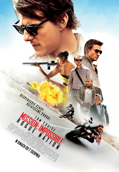 Mission: Impossible – Rogue Nation aka Mission: Impossible 5