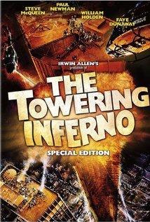 Płonący wieżowiec