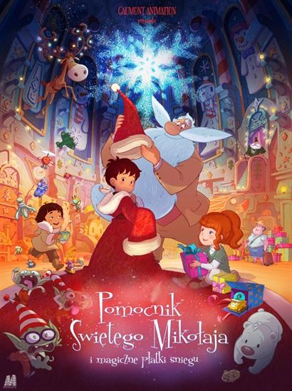 Pomocnik Świętego Mikołaja i Magiczne Płatki Śniegu