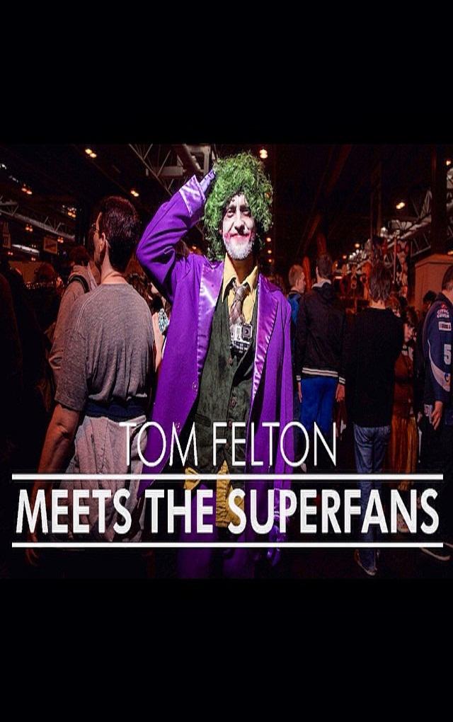 Tom Felton poznaje psychofanów