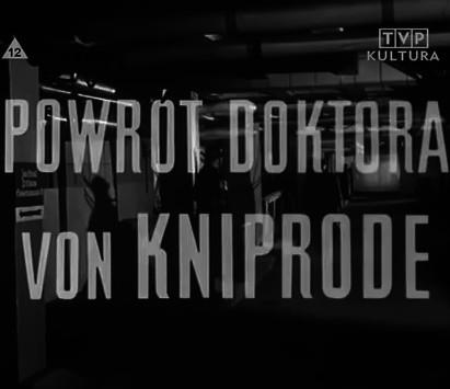 Powrót doktora von Kniprode