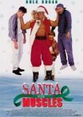 Muskularny Święty Mikołaj