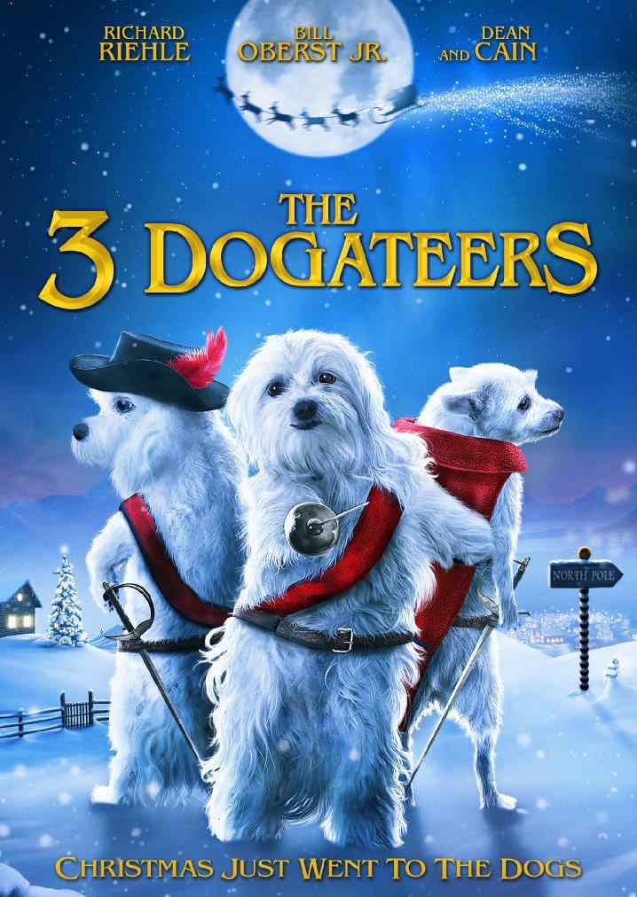 Psi muszkieterowie ratują święta