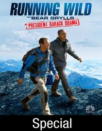 Barack Obama w dziczy z Bearem Gryllsem