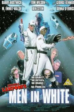 Faceci w bieli