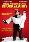 Państwo młodzi Chuck i Larry